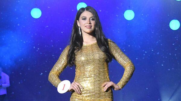 Вторая вице-мисс конкурса красоты Мисс Чита-2019 Татьяна Дербина в Чите