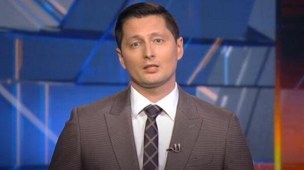 Стоп-кадр программы Контуры с участием Дмитрия Семченко