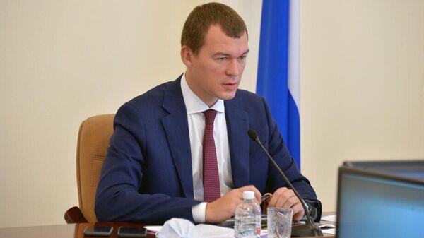 Дегтярев отправил в отставку министра здравоохранения Хабаровского края