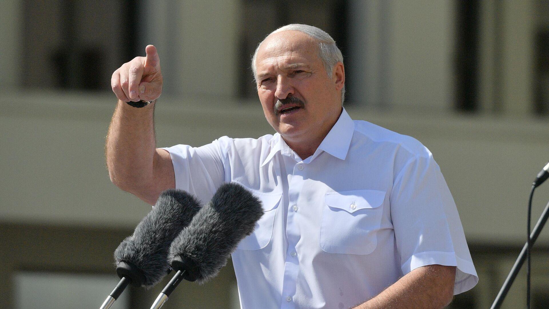 Президент Белоруссии Александр Лукашенко - РИА Новости, 1920, 21.08.2020