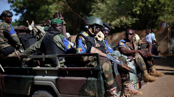 Военнослужащие армии Мали