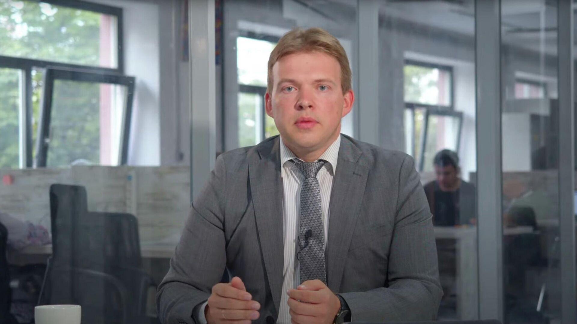 Скриншот видео от юриста Максима Знака - РИА Новости, 1920, 18.09.2020