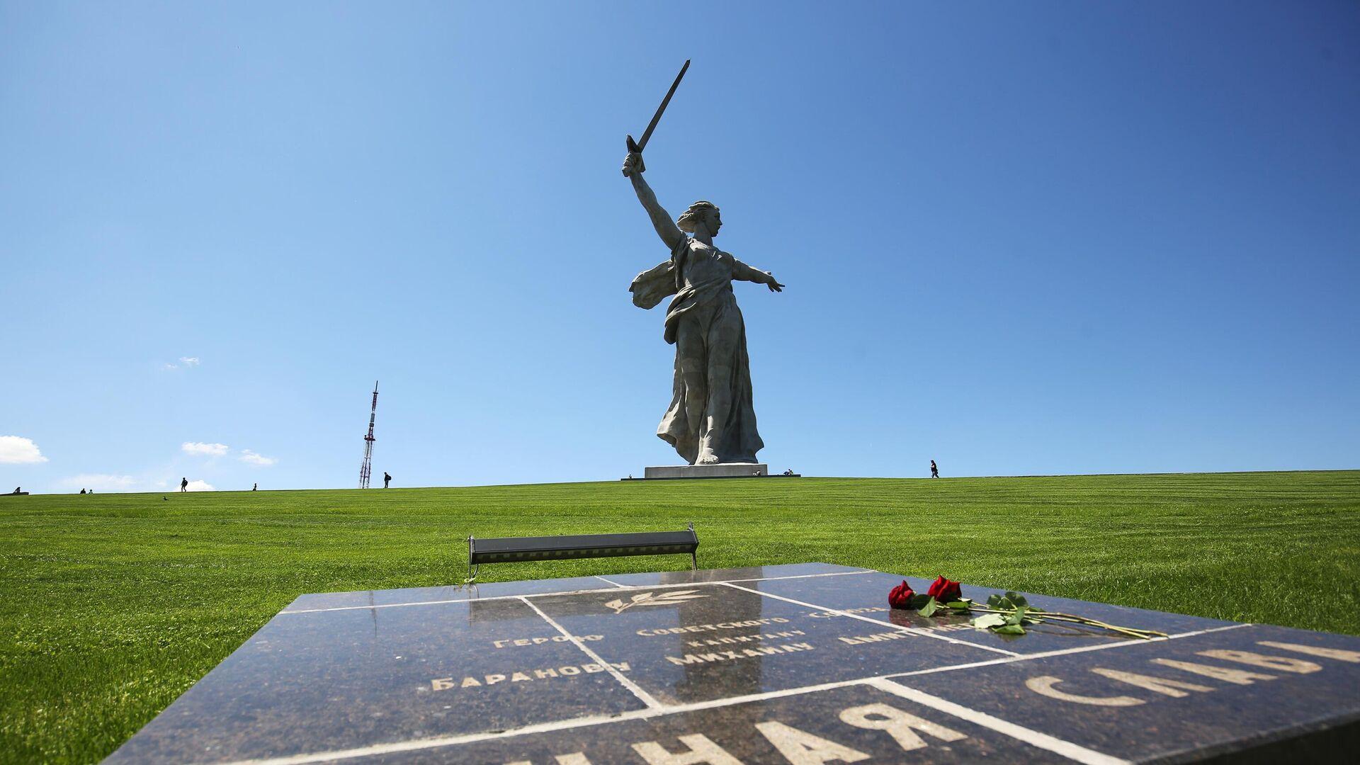 Монумент Родина-мать зовет! на Мамаевом кургане после реставрации - РИА Новости, 1920, 20.08.2020