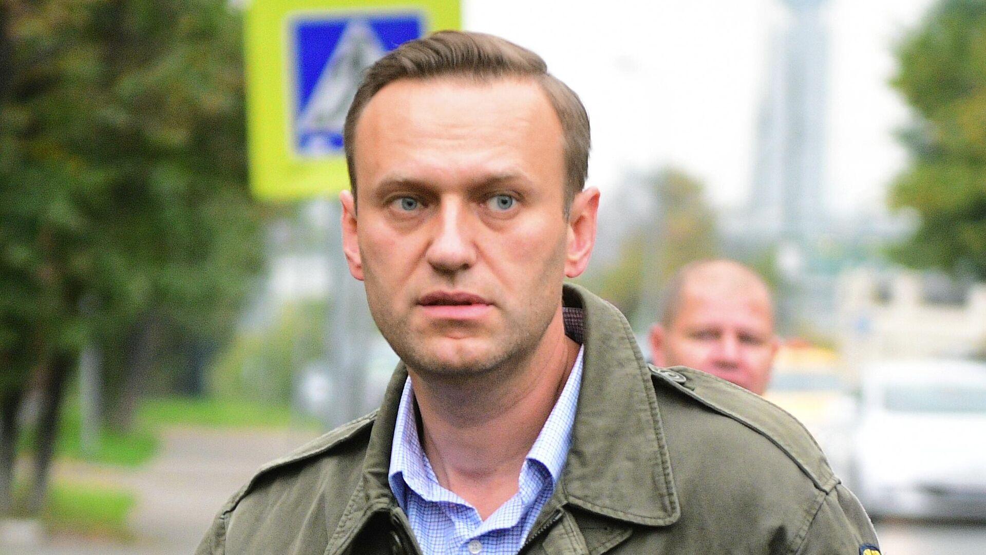 Алексей Навальный - РИА Новости, 1920, 04.09.2020