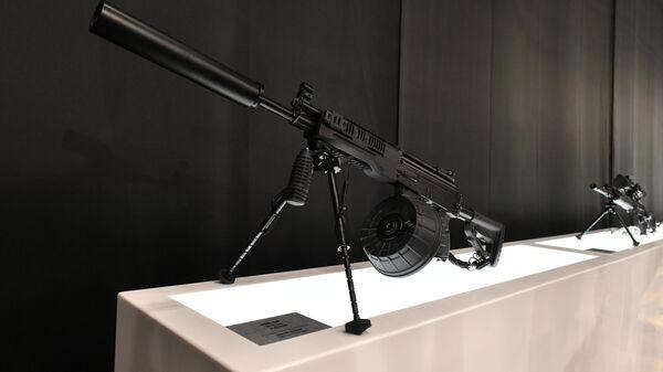 Ручной пулемет РПК-16 на стенде концерна Калашников