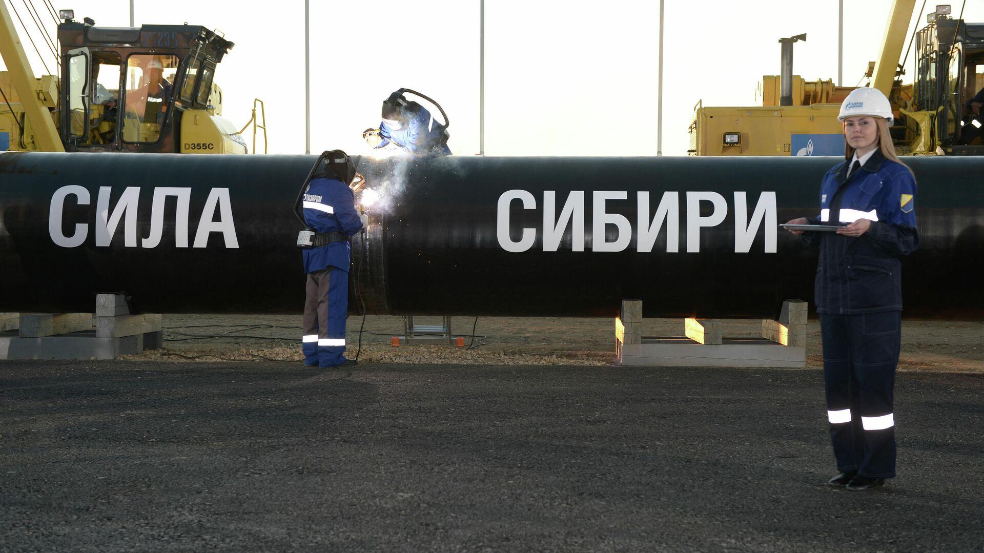 """""""Газпром"""" отчитался о поставках в Китай по """"Силе Сибири"""""""