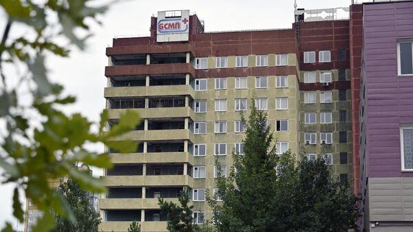 Омская БСМП № 1, где в токсикореанимации находится Алексей Навальный