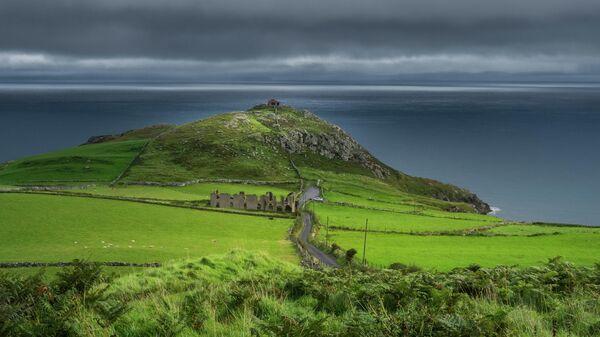 Мыс Торр-Хед в Северной Ирландии