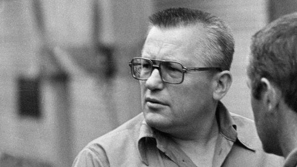 Сергей Вайцеховский старший тренер сборной СССР по плаванию.