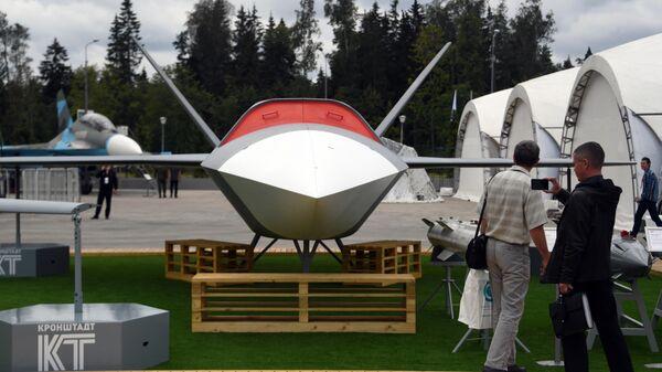 Беспилотный летательный аппарат Гром на форуме Армия-2020