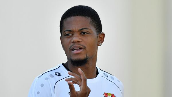 Ямайский футболист Байера Леон Бэйли