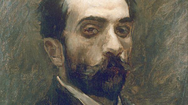 Художник Исаак Левитан. Автопортрет. 1880 г.
