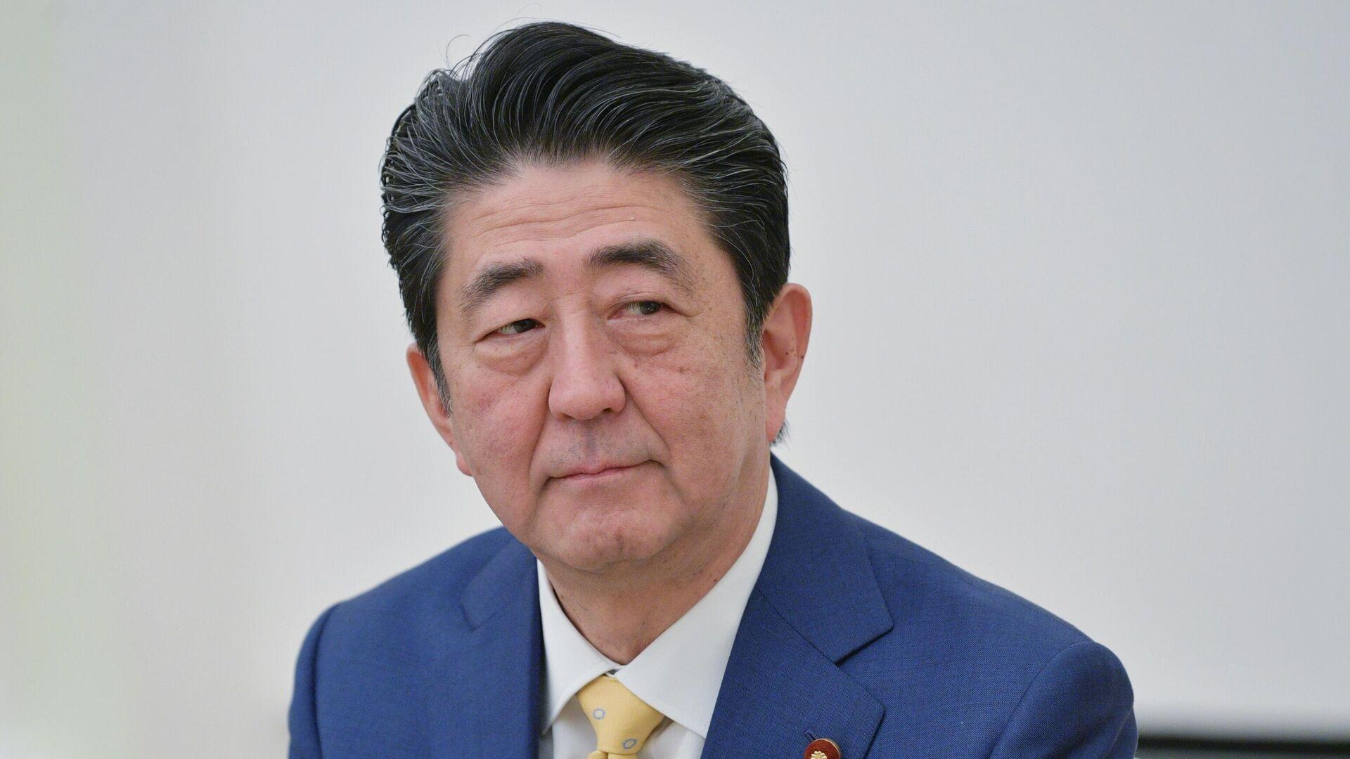 Премьер-министр Японии Синдзо Абэ - РИА Новости, 1920, 26.09.2020