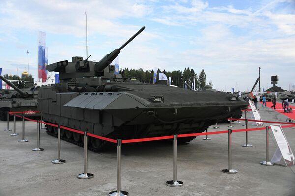 БМП Т-15 на выставке вооружений Международного военно-технического форума (МВТФ) Армия-2020 в военно-патриотическом парке Патриот