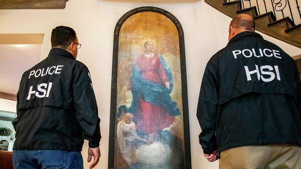 В Техасе нашли украденную из итальянского аббатства старинную картину