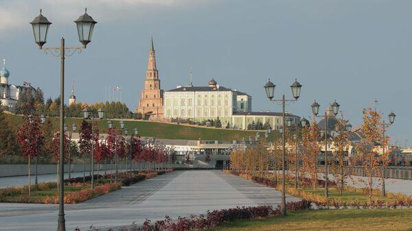 Казанский Кремль и набережная