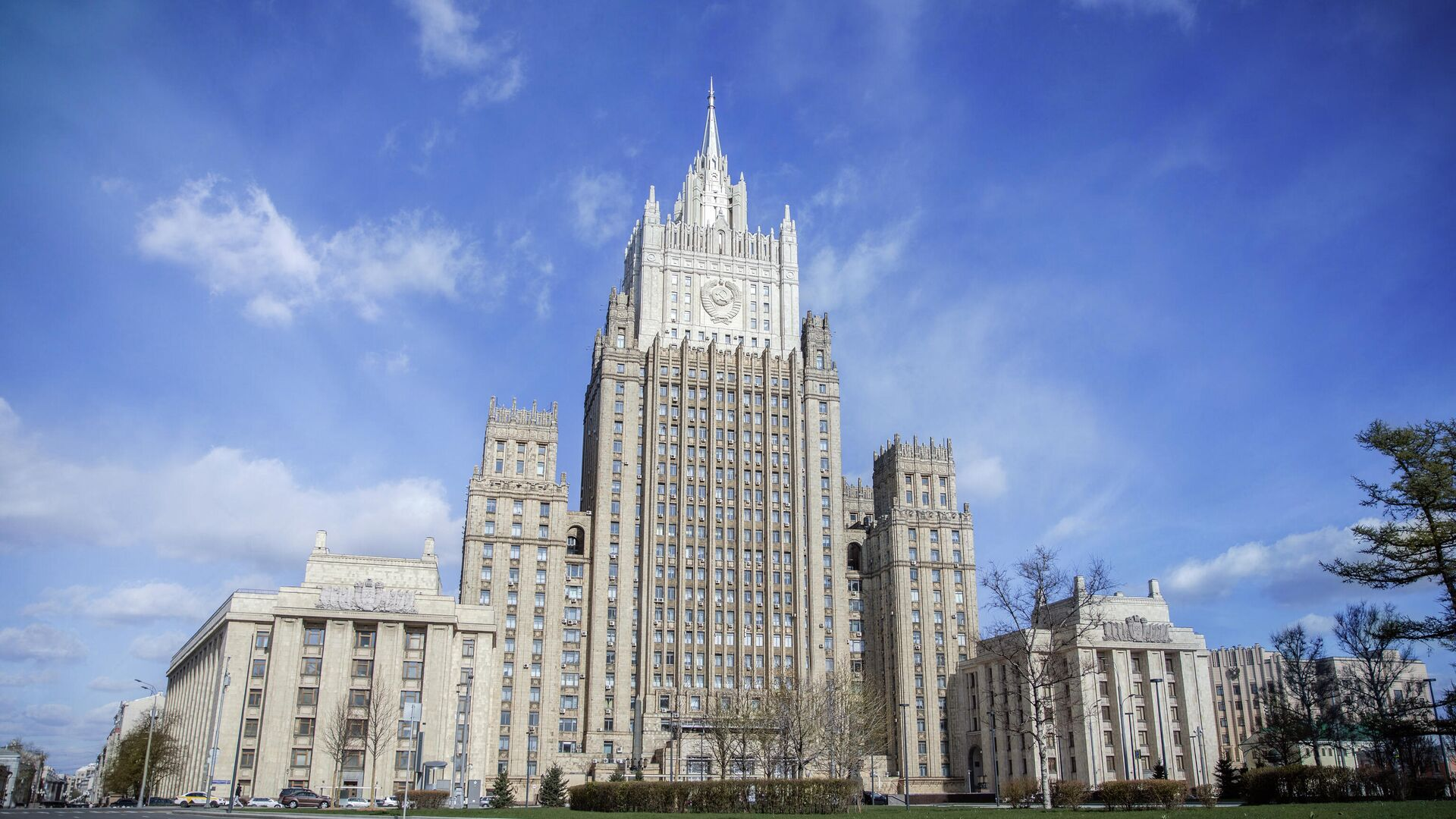 Здание МИД России - РИА Новости, 1920, 20.04.2021