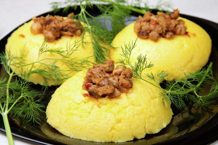 Мамалыга — национальное блюдо Молдавии