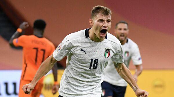 Полузащитник сборной Италии по футболу Николо Барелла