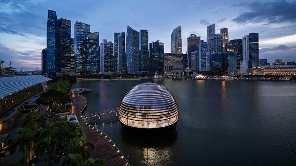Apple Marina Bay Sands в Сингапуре
