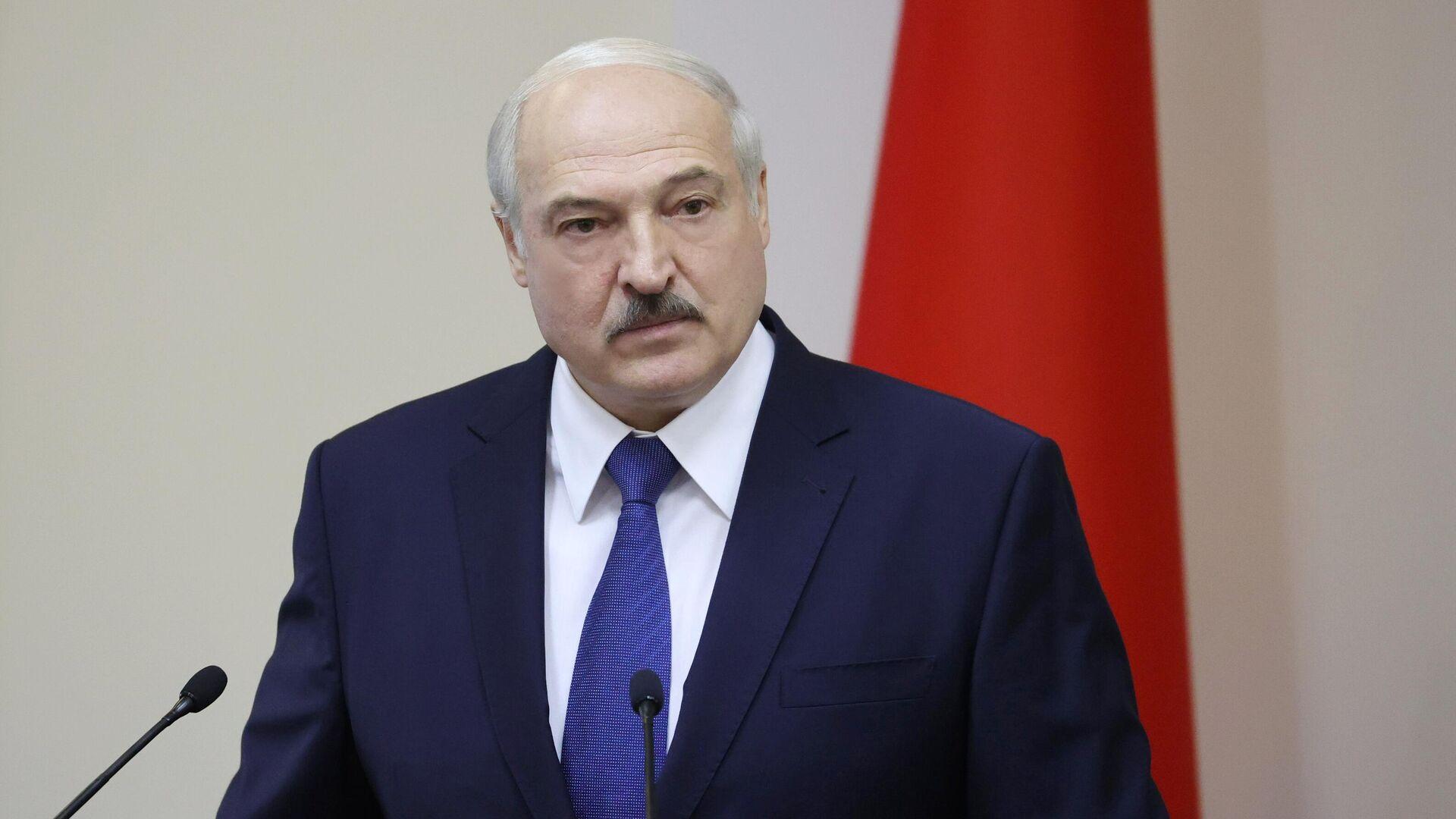 Президент Белоруссии Александр Лукашенко - РИА Новости, 1920, 17.09.2020
