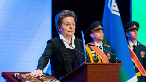 Торжественная церемония инаугурации губернатора Югры Натальи Комаровой в концертно-театральном центре Югра-классик