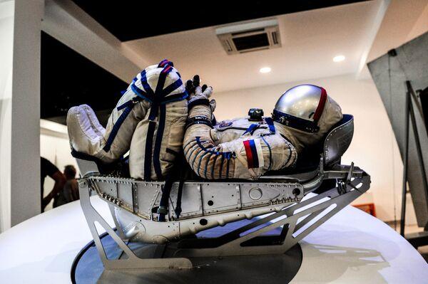 Скафандр модели Сокол-КВ-2 в музее Самара Космическая