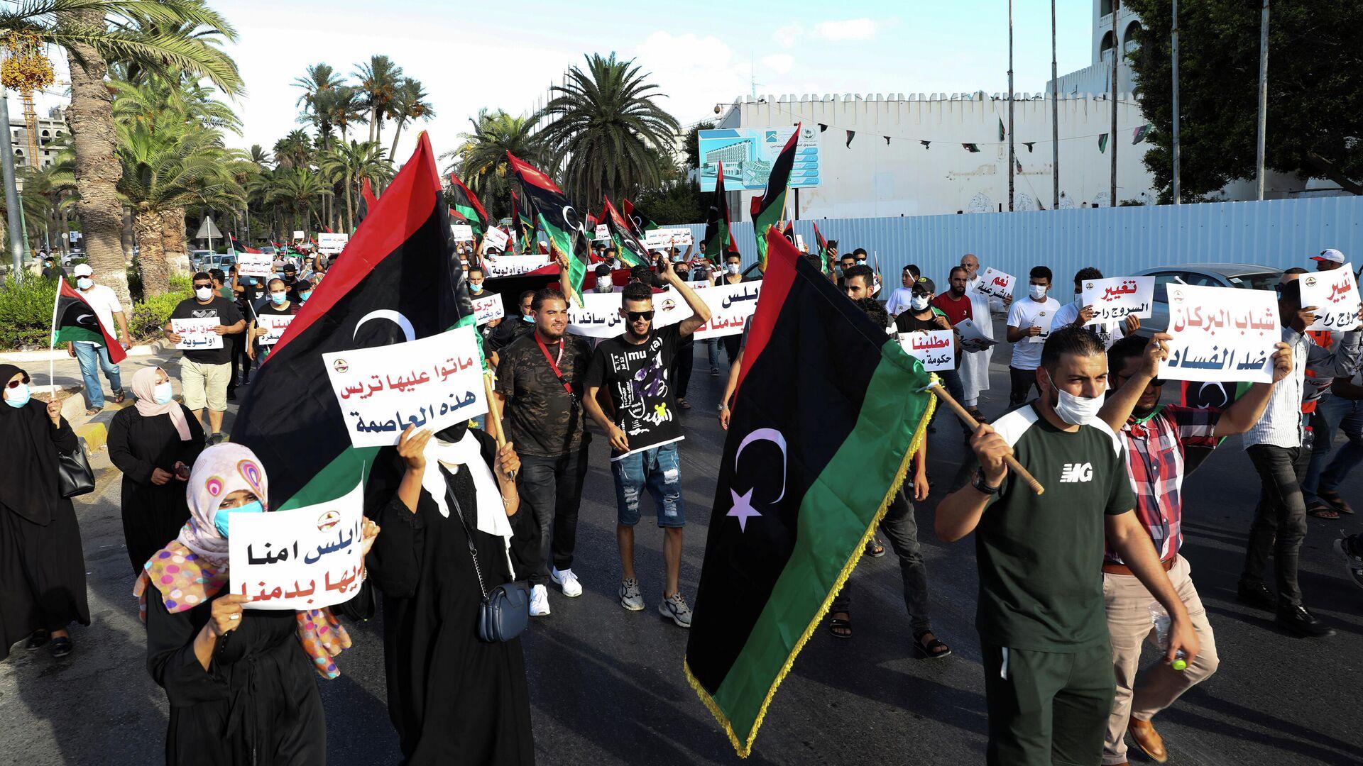 Москва надеется скоро открыть посольство в Триполи
