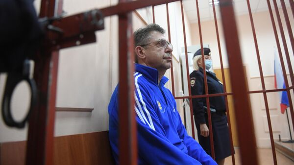 Избрание меры пресечения А. Кравцову