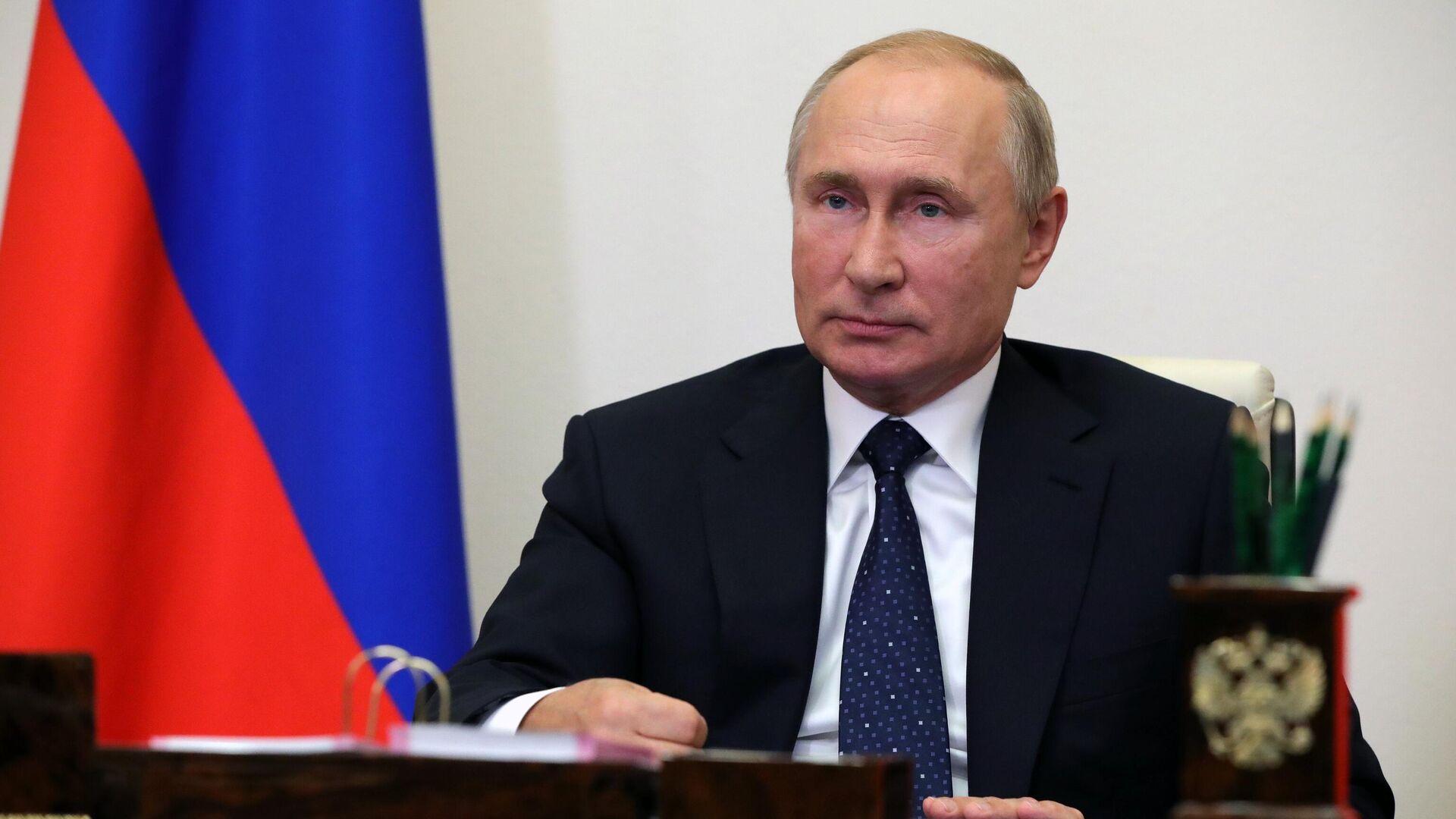 Президент России Владимир Путин - РИА Новости, 1920, 28.09.2020