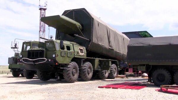Испытания ракетного комплекса Авангард