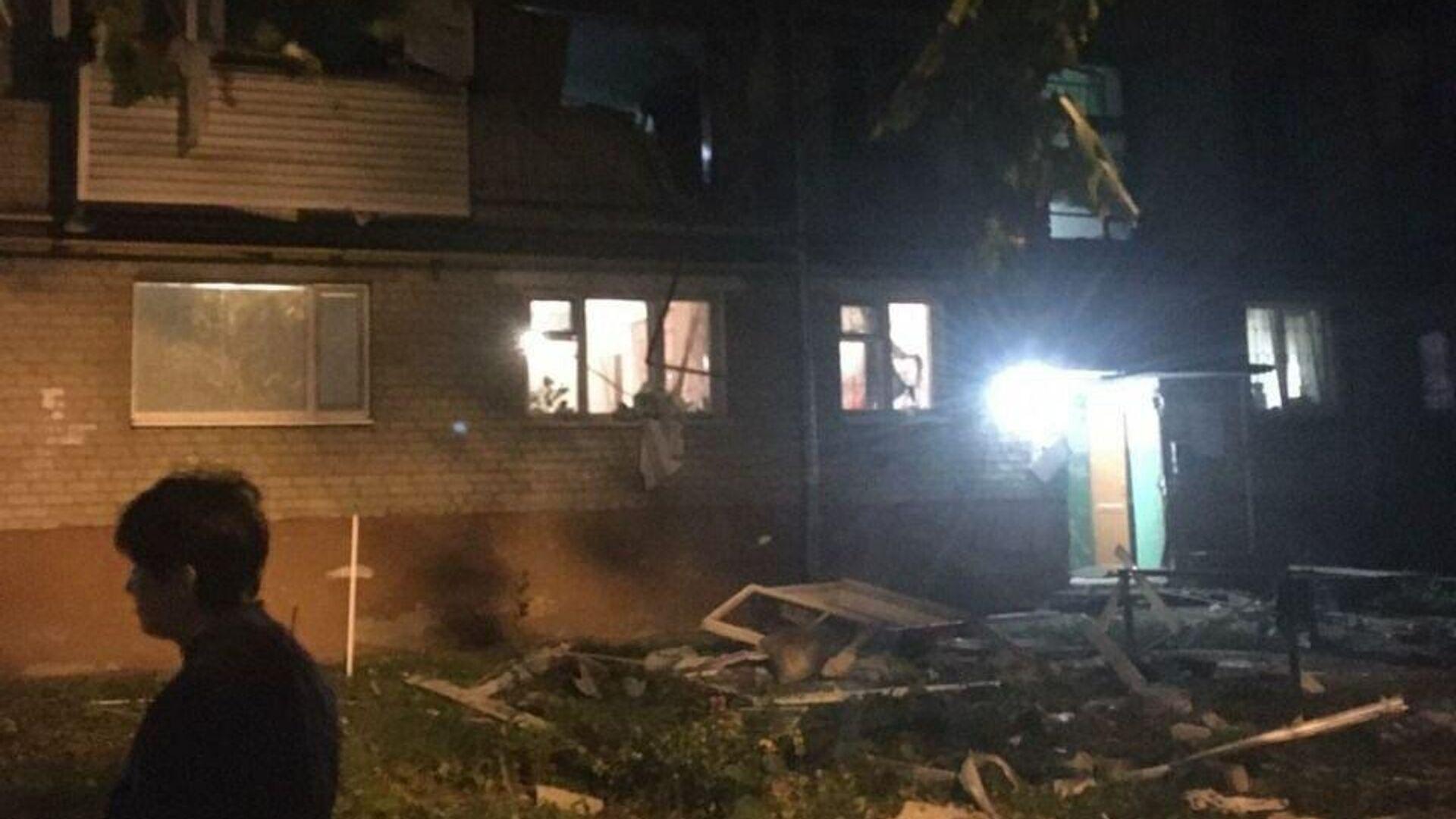Взрыв газа в жилом пятиэтажном доме в Тюмени - РИА Новости, 1920, 21.09.2020