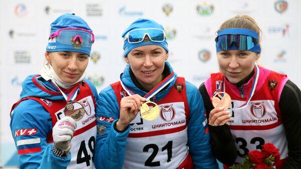 Светлана Миронова, Екатерина Глазырина и Евгения Павлова (слева направо)
