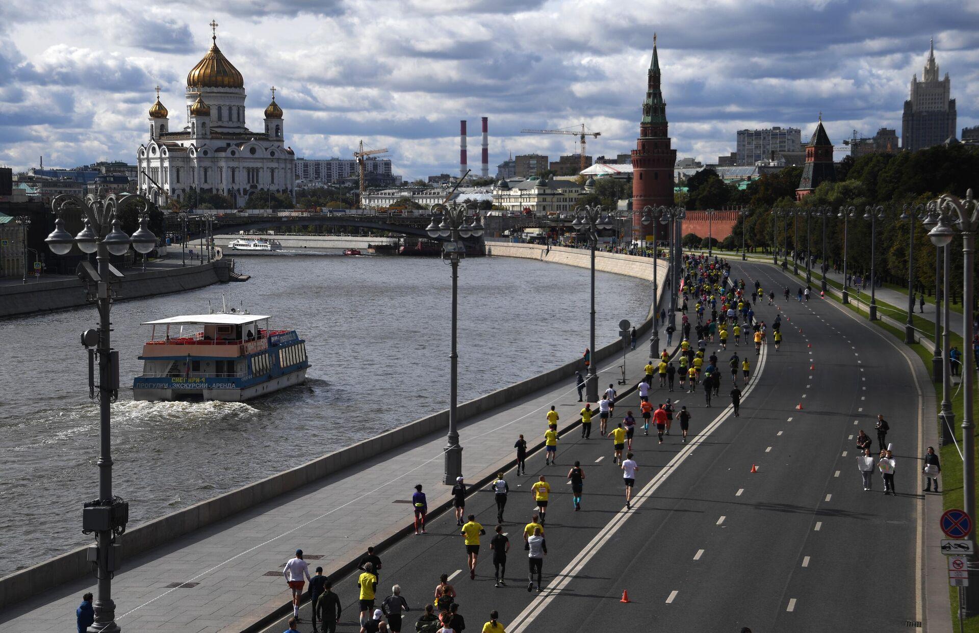 Московский марафон — 2020 - РИА Новости, 1920, 30.03.2021