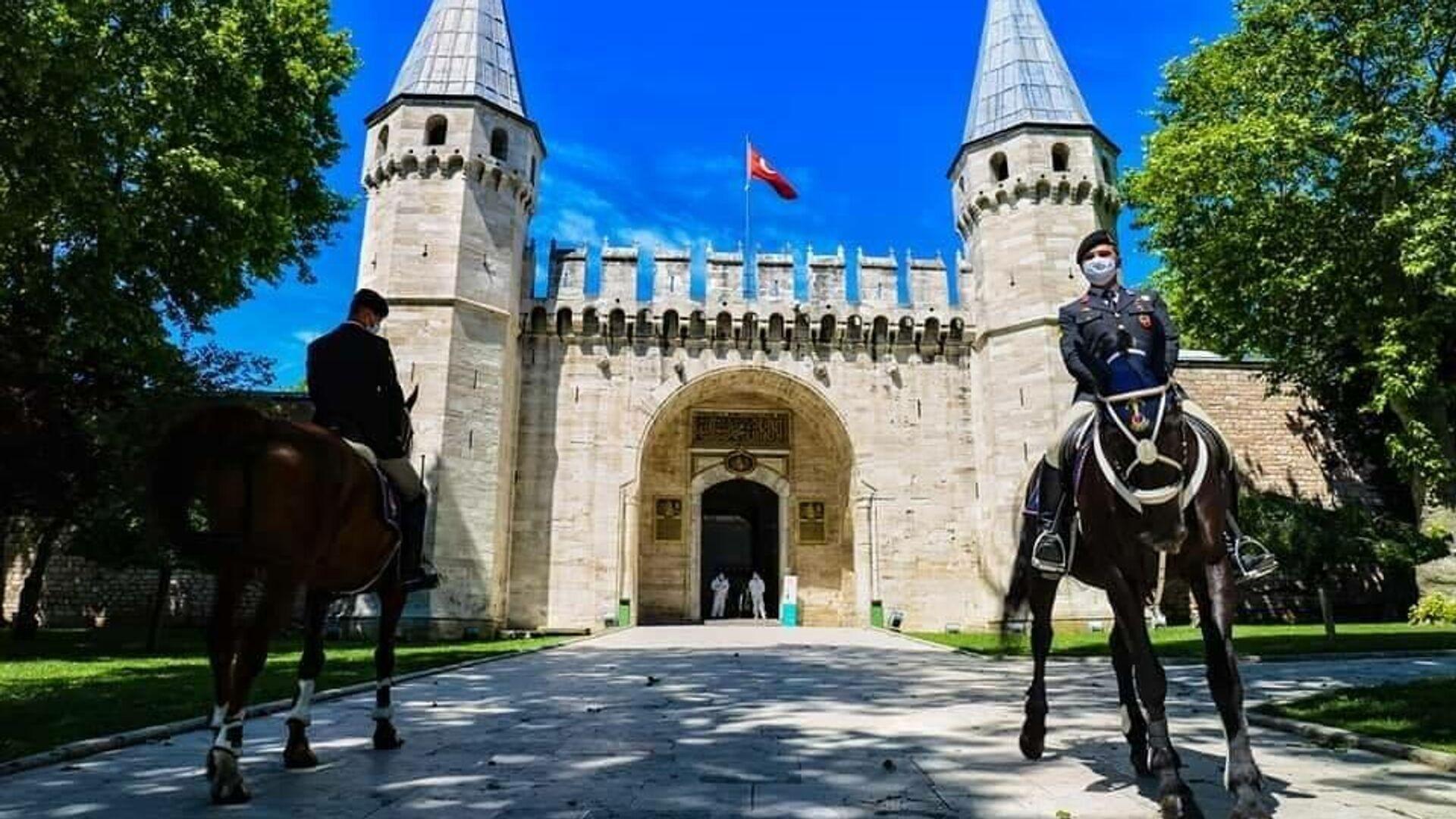 Султанский дворец Топкапы в Стамбуле - РИА Новости, 1920, 25.11.2020