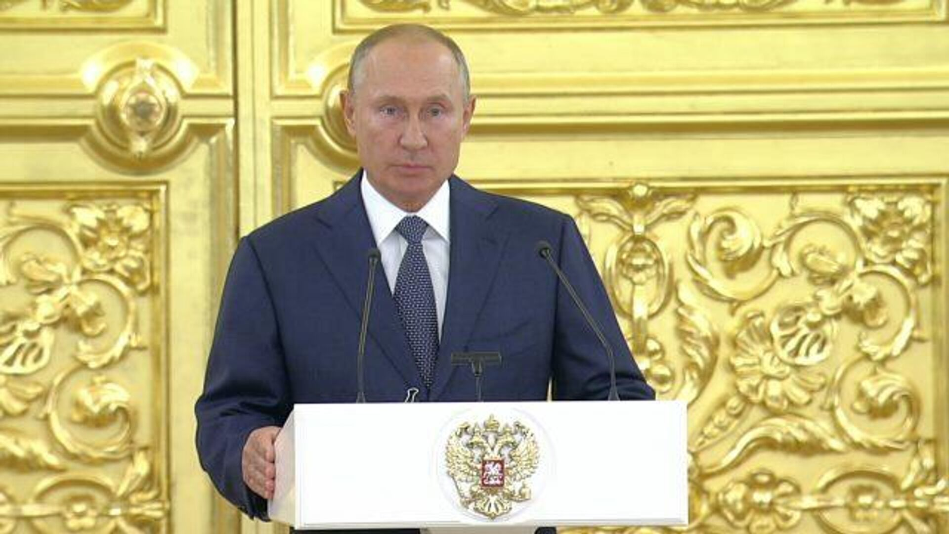 Путин: Граждане должны в полной мере ощущать действия принятых поправок - РИА Новости, 1920, 23.09.2020