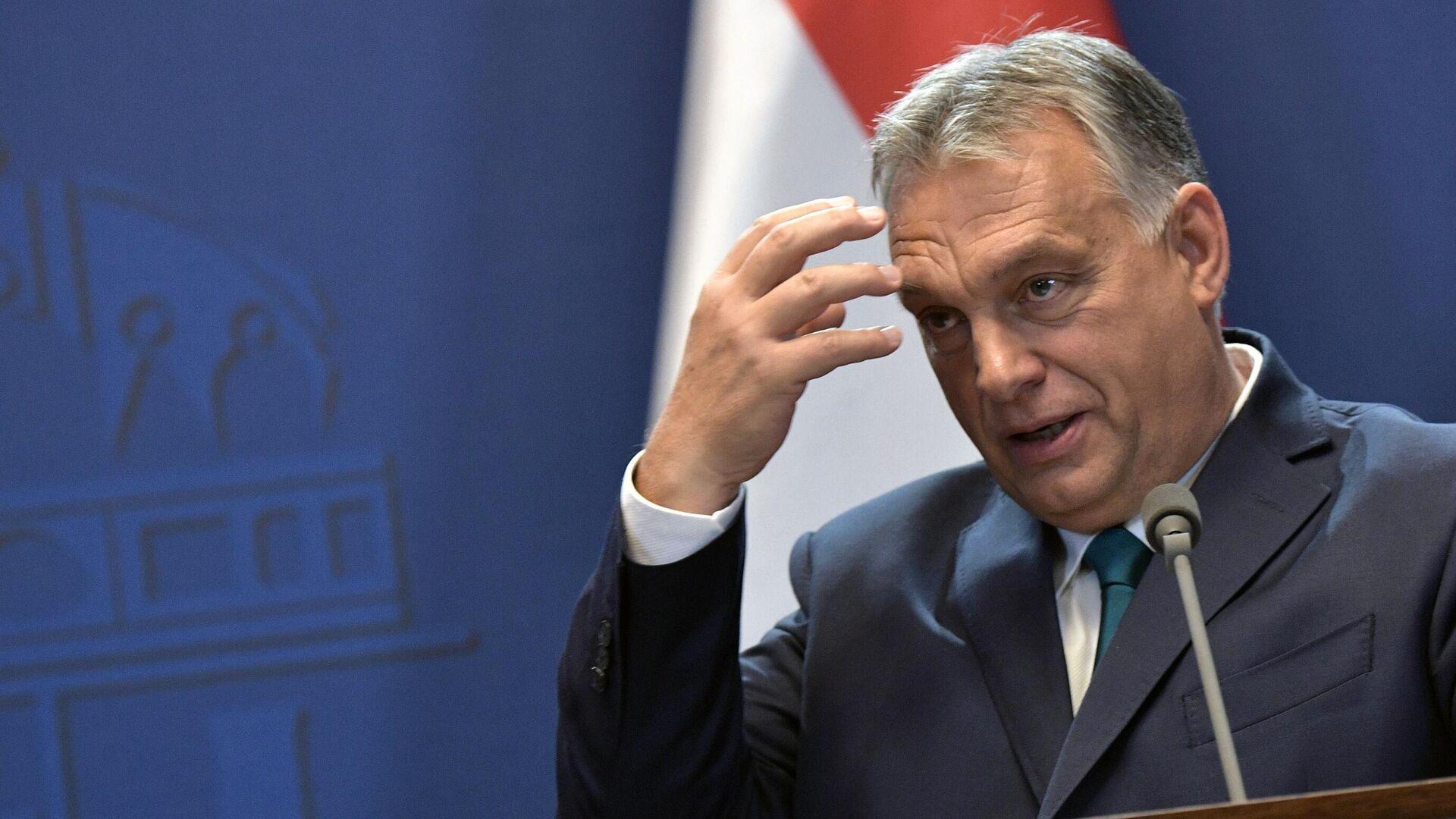 Премьер-министр Венгрии Виктор Орбан  - РИА Новости, 1920, 21.07.2021
