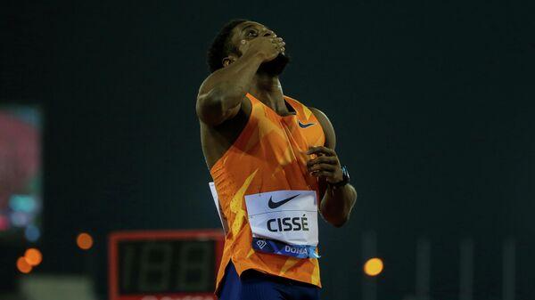 Ивуарийский легкоатлет Артур Сиссе