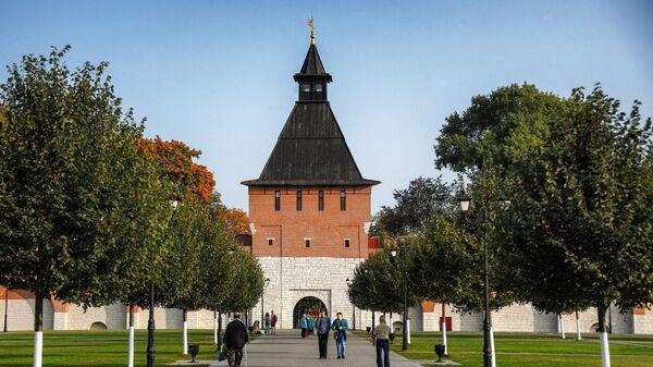 Башня Ивановских ворот Тульского кремля