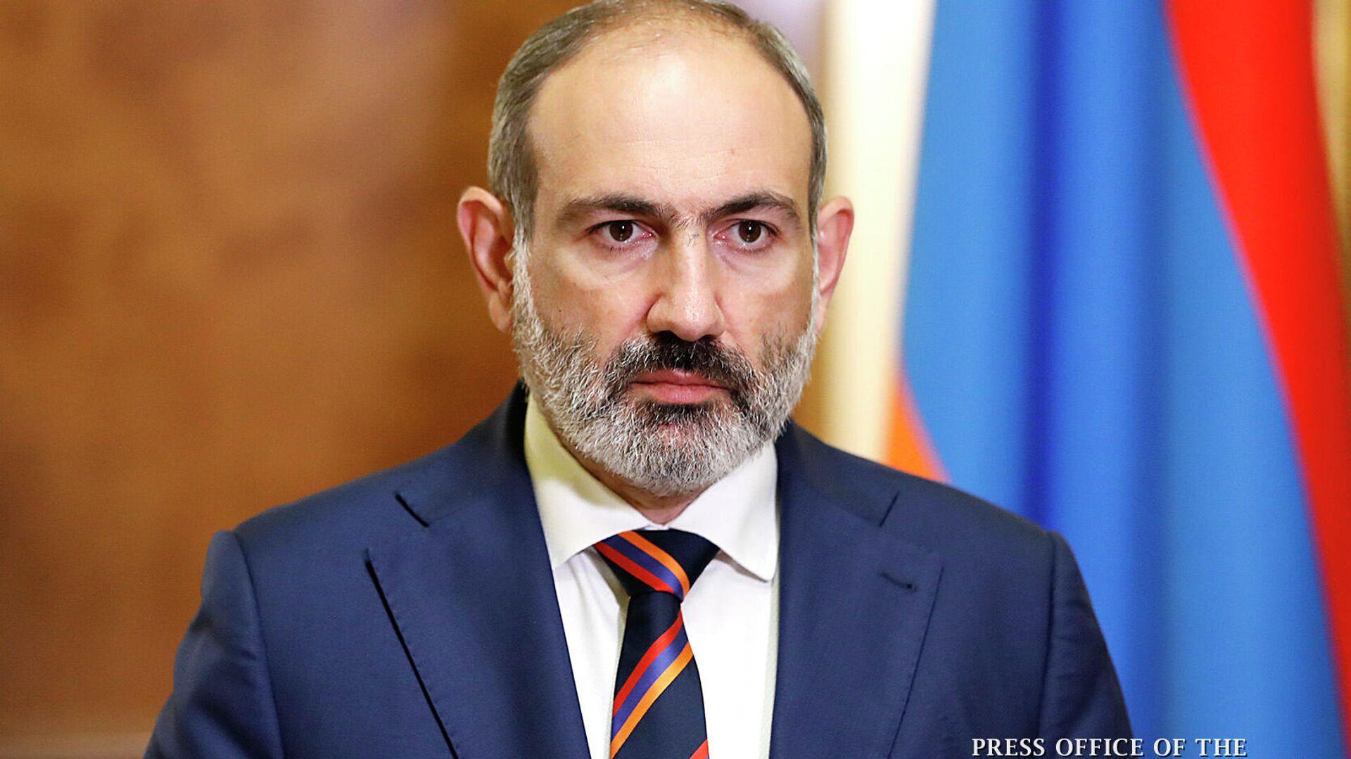 Премьер-министр Армении Никол Пашинян - РИА Новости, 1920, 19.11.2020