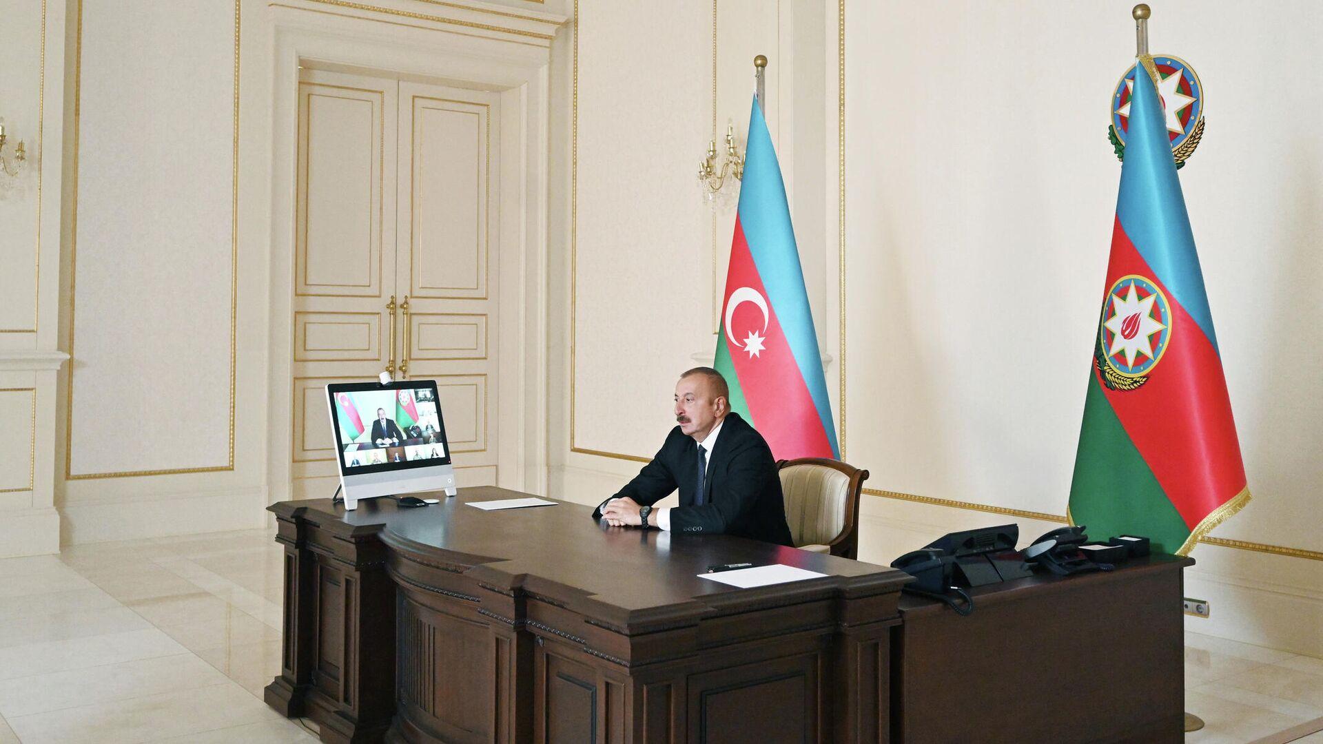 Заседание Совета безопасности Азербайджана 27 сентября 2020 - РИА Новости, 1920, 03.10.2020