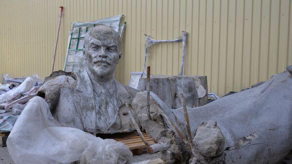 Памятник Ленину, демонтированный в Белгороде