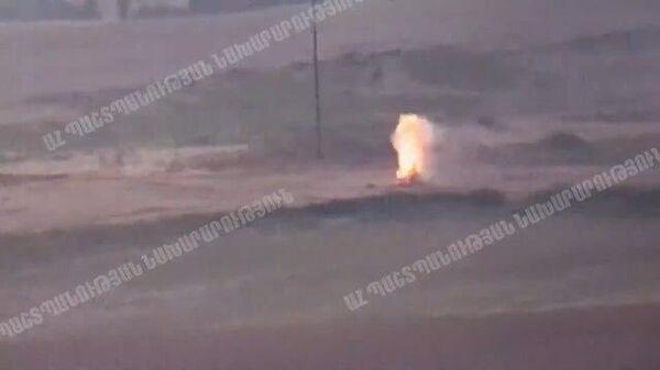 Азербайджан предпринял танковое наступление в Карабахе