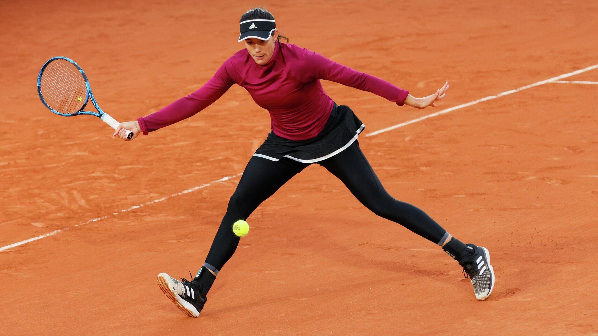 Теннисистка Гарбинье Мугуруса (Испания) - РИА Новости, 1920, 29.09.2020