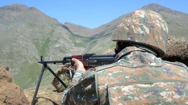 Военнослужащий армии Армении