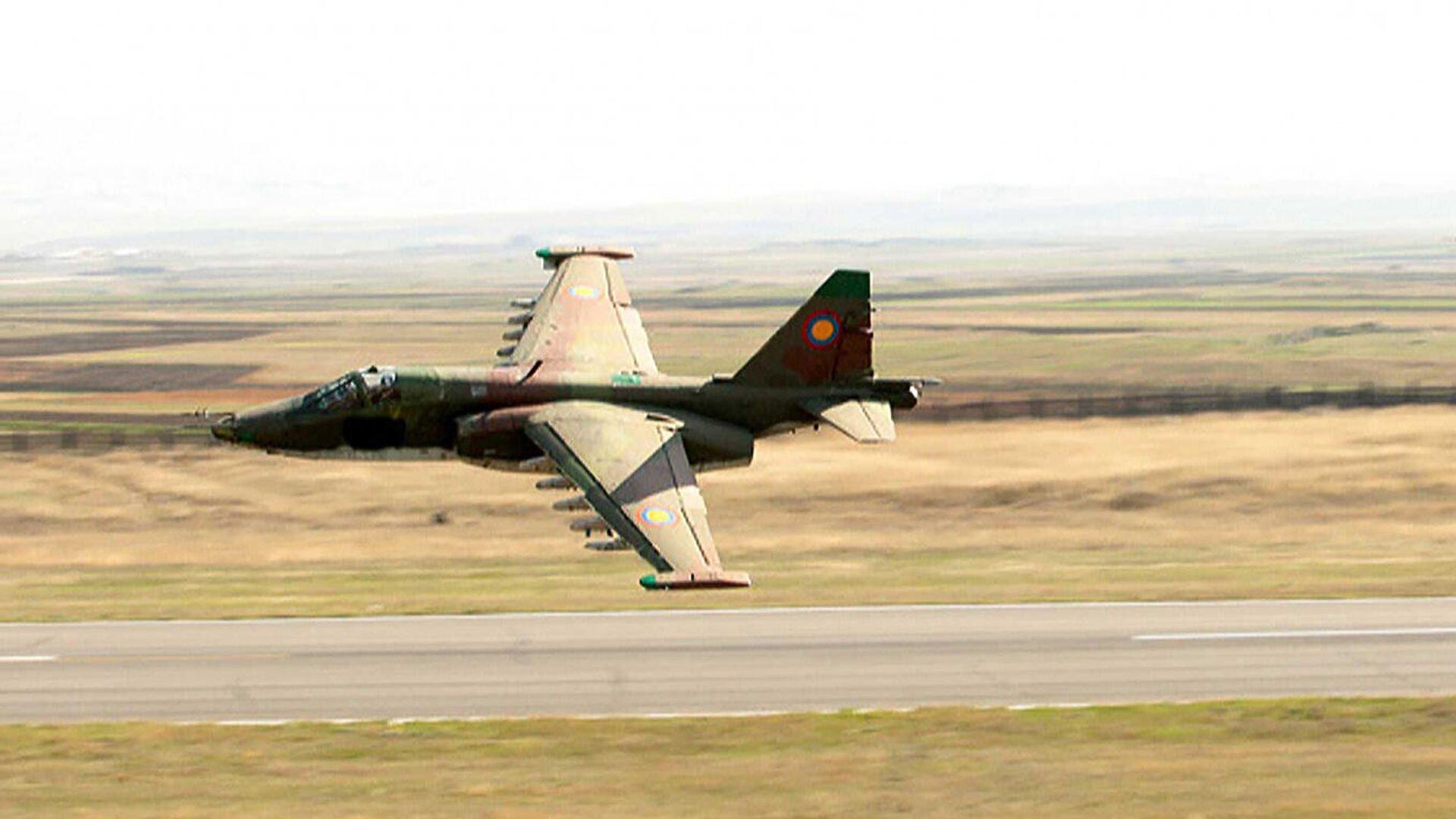 Штурмовик Су-25 ВВС Армении - РИА Новости, 1920, 29.09.2020