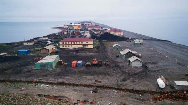 Вид на поселок с сопки