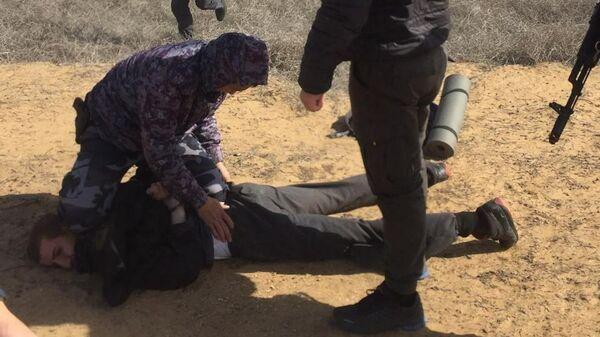 Спецоперация по задержанию преступников, сбежавших из колонии в Дагестане