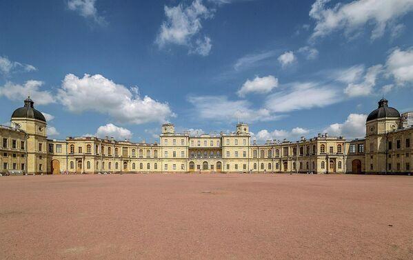 Южный фасад Большого Гатчинского Дворца