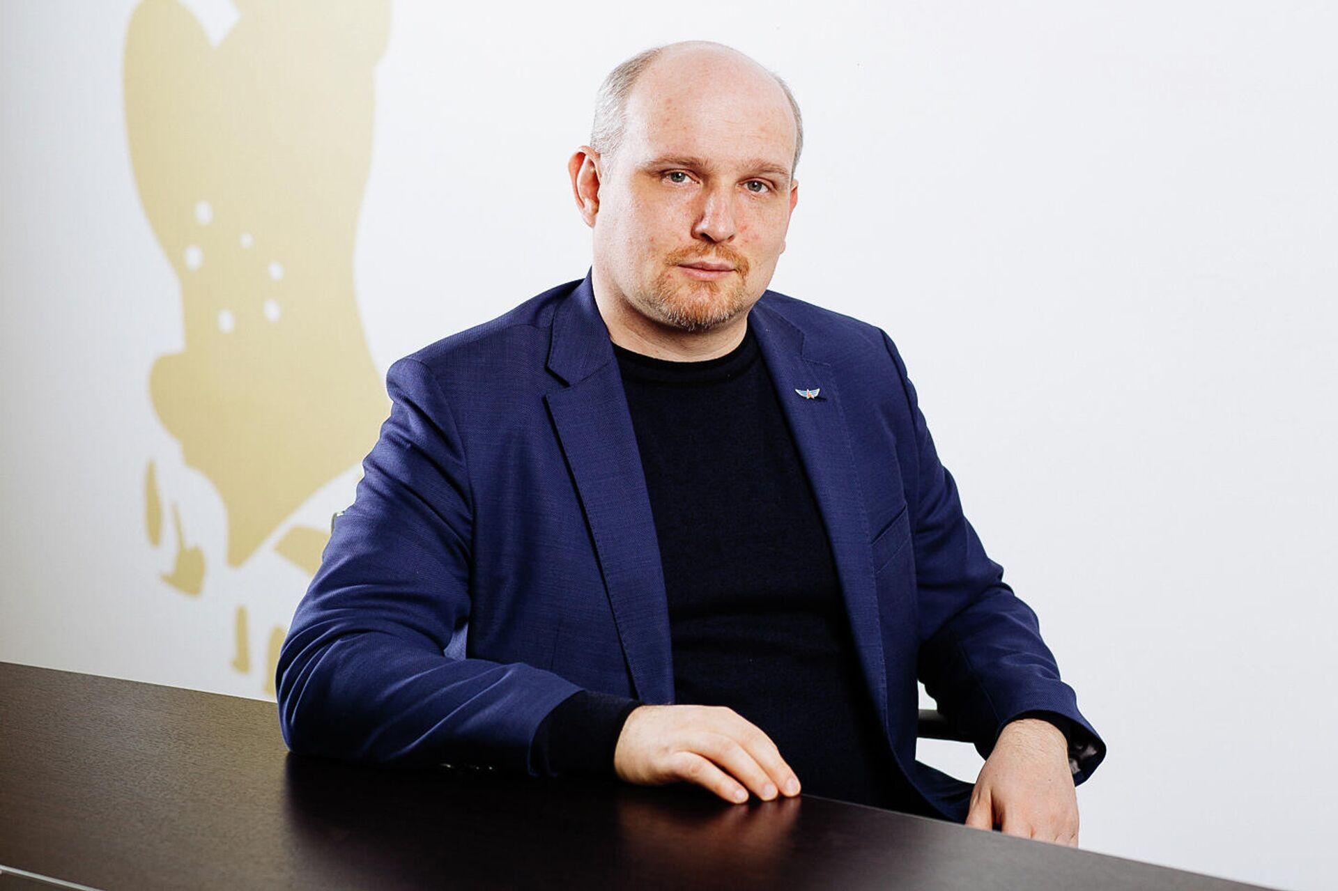 Президент Федерации компьютерного спорта России Дмитрий Смит - РИА Новости, 1920, 02.10.2020